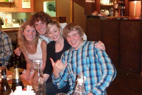 Erin, Leroy, Liesje & Gordie Xmas 2009